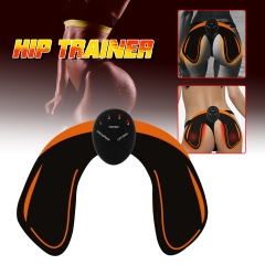 Smart Hip Trainer Gel Patch Hips Buttocks Lifting Up Muscle Stimulator Pad Sticker Waist Body Beauty Charging one size