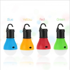 Hook light Campfire Tent light Emergency light flashlight Bulb 3LED lights Night light Mini light 4 color one size 1.2w