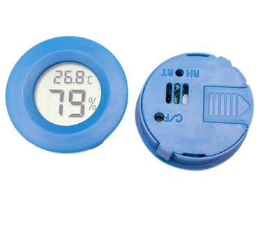 Mini LCD Digital Thermometer Hygrometer Fridge Freezer Tester Temperature Humidity Meter blue one size