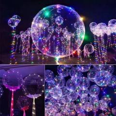 night market Illuminate Wave ball Led balloon Helium balloon Net red Bobo balloon color one size 1w
