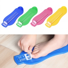 Kids Foot Measure Tool Shoes Helper Shoes Size Calculator Children Infant Feet Measuring Ruler Tool random color one size