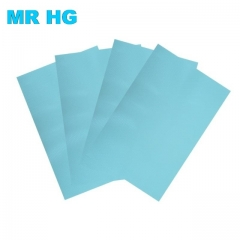 Refrigerator Pad Antibacterial Antifouling Mildew Moisture Tailorable Pad Refrigerator Mats blue one size