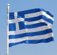 Greek Flag For Office Activity Parade Holiday Festival Decoration Banner Flags  Home Decor Greek flag one size