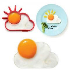 Kitchen Creative Supplies sun Cloud Omelette Love breakfast sun Omelette red one size