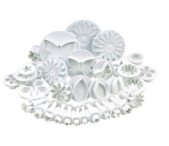 Baking Suit Fondant cake Mold spring Embossing Mold Biscuits Impression white one size