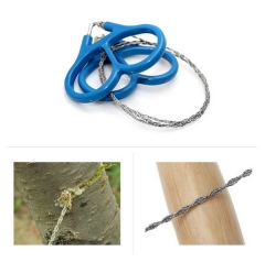 Outdoor Camping Hunting Survival Necessary Tool High Strength Steel Wire Fretsaw blue all code