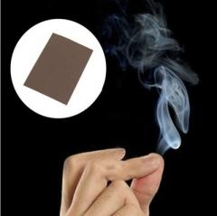 New 10pcs Close-Up Magic Gimmick Prop Fantasy Finger Tips Smoke Hell Smoke Trick black 10 sets
