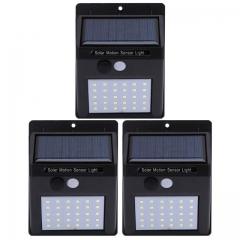 Solar Garden Light LED Solar Lamp Motion Sensor Waterproof Outdoor Lighting Decoration Street Lights 30 solar lights one size one size