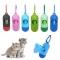 Pet Dog Poop Bag Holder Dispenser Waste Garbage Pick Up Waste Poop Bags Clean Up Pet Waste Bag random color one size