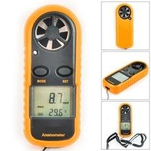 GM816 Digital Anemometer Wind Speed Meter  Air Guage Temperature LCD Backlight Display