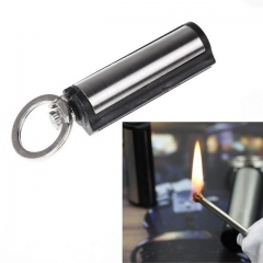 Kerosene Oil Lighters for Cigarette Smoking Matchstick Survival Tool Lighter Flint Fire Starter silver one size