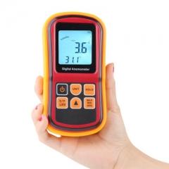 GM8901 Wind Speed meter handheld anemometer thermo anemometer wind meter anemometer