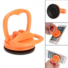Mobile Phone Repair LCD Screen Computer Vacuum Strong Suction Cup Car Remover Round Shape orange
