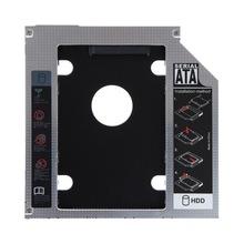 SATA HDD SSD Hard Drive Caddy Bay for Mac Book pro Notebook hard disk drive bay black