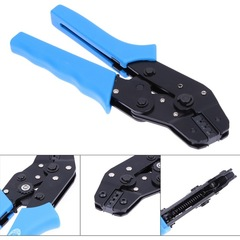 HSC8 6-4 Terminal Crimping Pliers Wire Stripper Crimper Ferrule Crimping Hand Tool Pliers random color one size