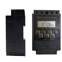 KG316T AC380V Din Rail LCD Digital Programmable Electronic Timer Switch Digital Timer Controller