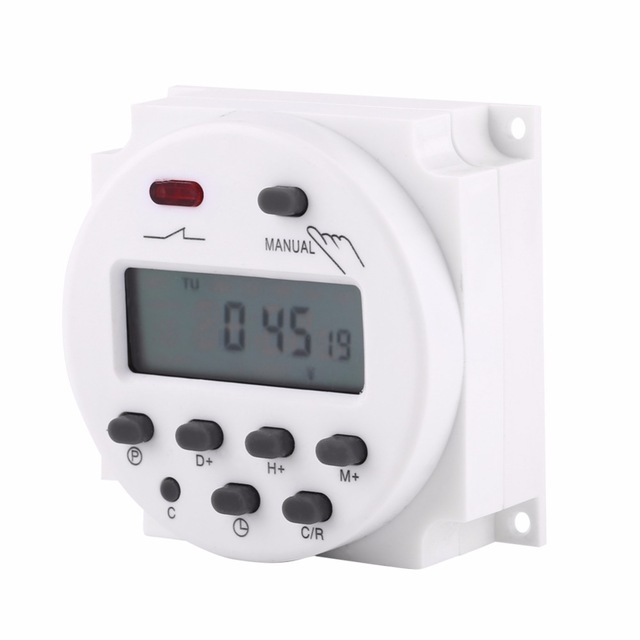Timer CN101A AC 110V 220V Digital LCD Power Timer Programmable Time Switch Relay 16A timers timer