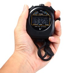 PC894 Electronic Stopwatch Large Scale Digital Running Timer Chronograph Counter Professiona