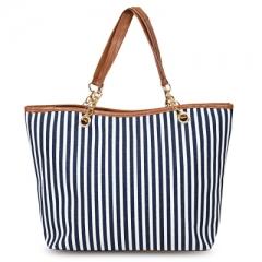 Shoulder Bag Chain Handbag blue large