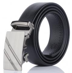 belt promotion ceinture dnuxlou mens belts luxury faux leather belt for men trouser Black