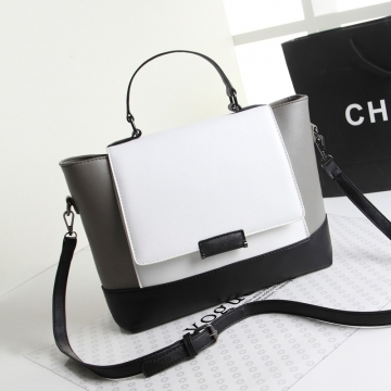 Handbag New Fashion Big Handbag New Design all-match Women's Bag White normal white normal