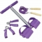 3 Way Fitness Set Purple
