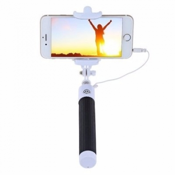 Universal Chef Wired Selfie Stick - Black black