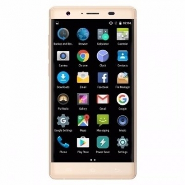 NOAIN K1 4G 5.0 inch HD Android 5.1 Lollipop Ultra Slim Smartphone 1GB RAM 16GB ROM gold