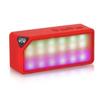 YCYY X3S 3W Wireless Bluetooth Speaker - Red one size