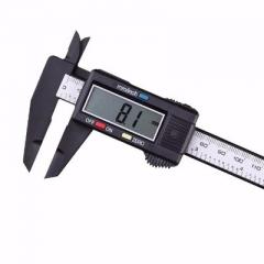 LCD Digital Caliper Carbon Fiber Vernier Gauge Micrometer Measuring Tool - 150mm - 6 Inch