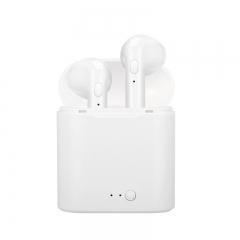 Fauns I7S TWS Mini Wireless Bluetooth Earphone Music Sport Headset  Earbud  Earpiece With Mic black
