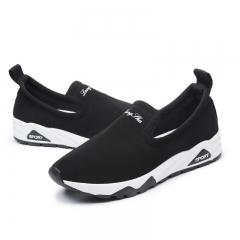 2018 Fashion Flats Shoes Women Slip On Female Shoes Ladies Casual Womens black 37