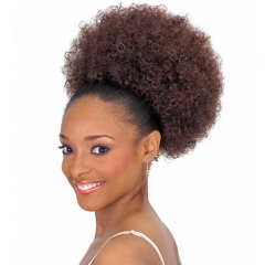 African Artifical Short Wavy Curly Wigs 30#Light Brown One Size