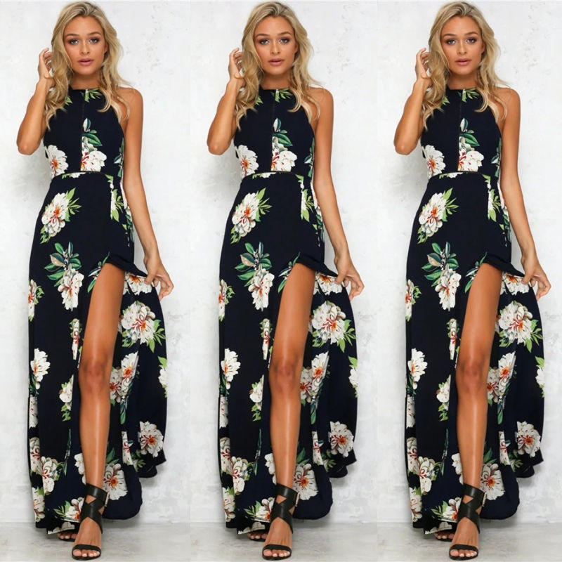 37b4729fca63 ... Boho Long Maxi Party Beach Dress Evening Floral Dresses Ladies Womens  Print Flower Sundres  Product No  639084. Item specifics  Seller SKU OGtAR   Brand