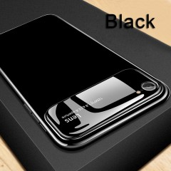 Luxury Protective Case for iPhone 7 Tempered Glass + PC Case Back Cover Bumper On The For Apple i