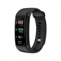 NEW F07 Bluetooth Smart Band OLED Color screen Bracelet IP68 Waterproof Swim Heart Rate blood pre