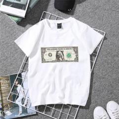 summer Women's T-shirt short sleeve 2018 New fashion personality printing Slim Korean Style Tee S