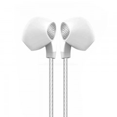 P10 Earphone Half In Ear Headset Stereo Earbuds with Microphone for Mobile Phone PC Gaming Audifo