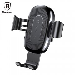 Gravity Car Mount QI Wireless Charger for iPhone X 8 8Plus Samsung 2A 10W Fast Charging Pad Car H