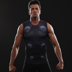 3D Printed T shirts Men Compression Shirt Cosplay Costume Cloth 2018 NEW Arrival Summer Bodybuild
