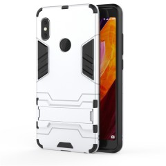 Holder Case for Xiaomi Redmi Note 5 Pro Cover Coque Shockproof Armor Soft TPU Hybrid Hard Plastic