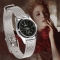 Fashion Women's Stainless Steel Band Quartz Casual Analog Wrist Watches Gifts IS As Picture
