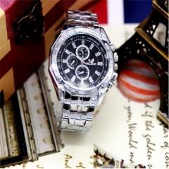 NEW Unisex Fashion Stainless Steel Daniel Quartz Women Mens Wrist Watch gift  Black