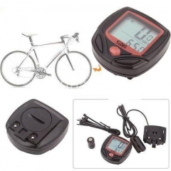 LCD BackLight Computer Speedometer Odometer For Cycle Bicycle Bike Waterproof SM As Picture