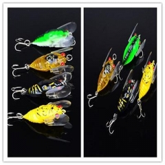 1PC Top Quality Fishing Lure colors 4cm/6.4g fishing tackle Cicada Bass DT As picture