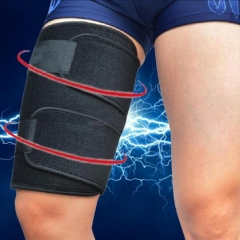 Sports Thigh Leg Groin Compression Wrap Brace Strap Sleeve Elastic Support Run@G As picture