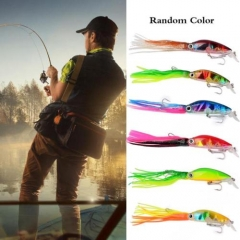 New Big Size Fishing Lures 10cm/18g Fishing Tackle Squid Lures Fishing Bait As picture