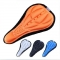 1PC Cycling Bike 3D Silicone Gel Pad Seat Saddle Cover Soft Cushion Vogue GN Black