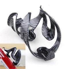Cycling Bicycle Outdoor Carbon Fiber Water Bottle Drinks Holder Cages Rack GooWN As picture