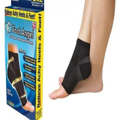 Foot Anti Fatigue Compression Sleeve Relieve Swelling Varicosity Socks T As pic